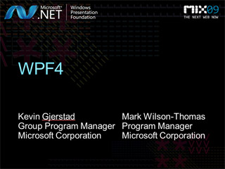 What's New in Windows Presentation Foundation (WPF) 4