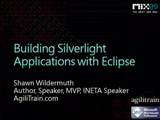 Building Microsoft Silverlight Applications with Eclipse