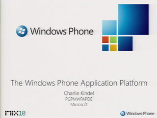 Overview of the Windows Phone 7 Series Application Platform