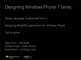 Windows Phone UI and Design Language