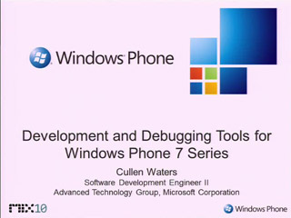 Development and Debugging  Tools for Building XNA Games for Windows Phone