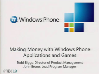 Distributing and Monetizing Windows Phone Applications and Games