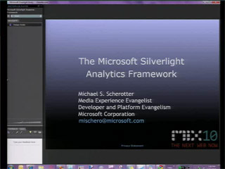 The Microsoft Silverlight Analytics Framework