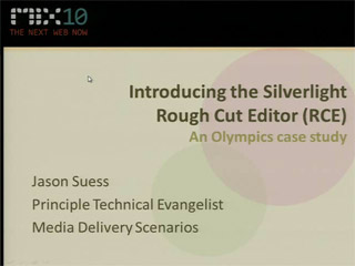 Introducing the Silverlight Rough Cut Editor