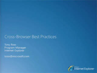 HTML5: Cross-Browser Best Practices