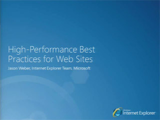 HTML5: High-Performance Best Practices for Web Sites