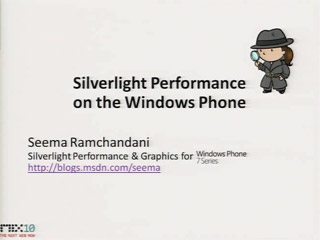Silverlight Performance on Windows Phone