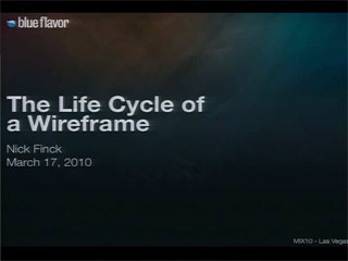 Lifecycle of a Wireframe