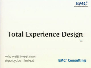 Total Experience Design