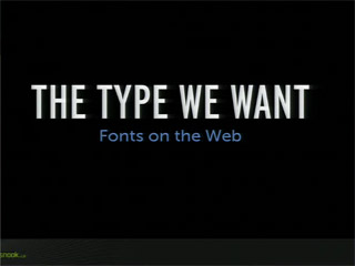 The Type We Want