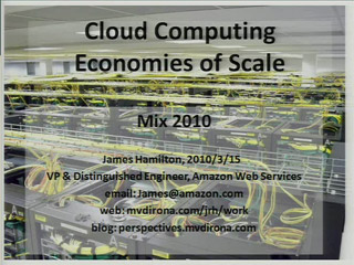 Cloud Computing Economies of Scale