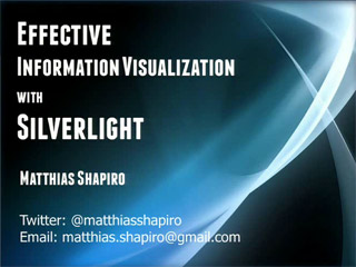 Creating Effective Info Viz in Microsoft Silverlight