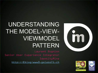 Understanding the Model-View-ViewModel Pattern