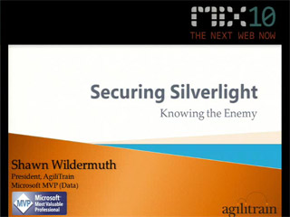 Securing Microsoft Silverlight Applications