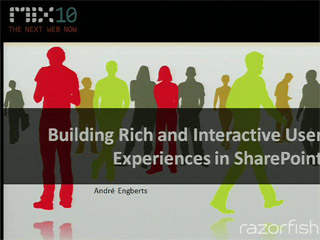 Building Rich and Interactive User Experiences in SharePoint
