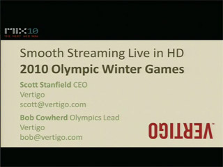 Smooth Streaming Live in HD: 2010 Olympic Winter Games