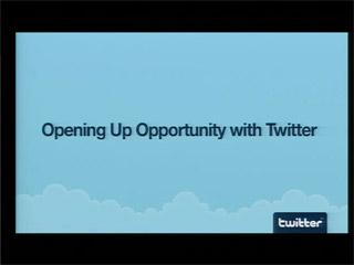 Opening Up Opportunity with Twitter