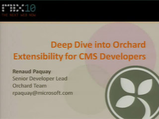 Deep Dive into Orchard Extensibility for CMS Developers
