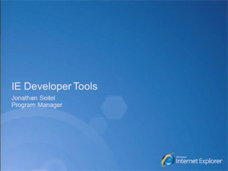 Internet Explorer Developer Tools