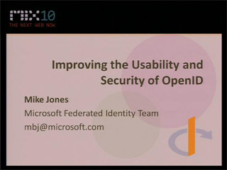 Improving the Usability and Security of OpenID