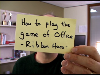 Office Casual:  Ribbon Hero