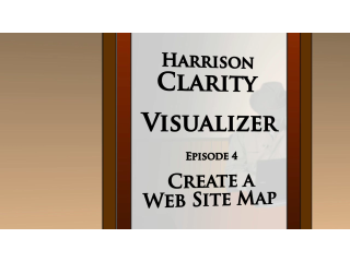 Harrison Clarity:  Create a Web Site Map