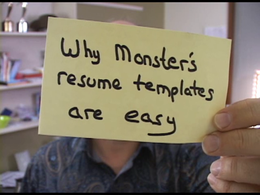 Office Casual: Why Monster's resume templates are easy