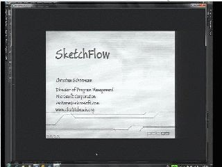 SketchFlow: Prototyping to the Rescue