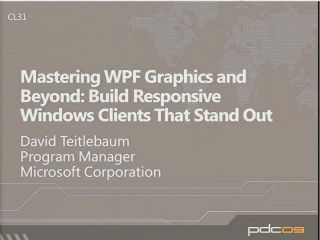 Mastering WPF Graphics and Beyond