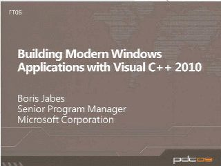 Accelerated Windows Application Development with Microsoft Visual C++ 2010