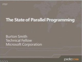 The State of Parallel Programming
