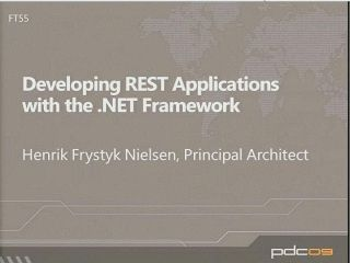 Developing REST Applications with the .NET Framework
