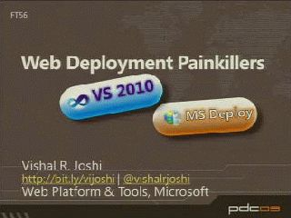 Web Deployment Painkillers: Microsoft Visual Studio 2010 & MS Deploy