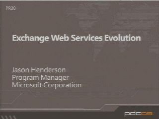 The Exchange 2010 Developer Story: Building Rich Exchange-enabled Applications for the Enterprise and the Cloud