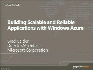 Patterns for Building Scalable and Reliable Applications with Windows Azure