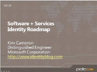 Software + Services Identity Roadmap Update