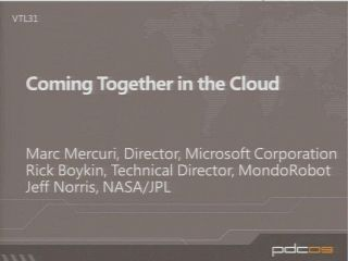 Coming Together in the Cloud