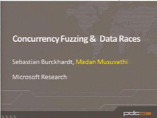 Concurrency Fuzzing & Data Races
