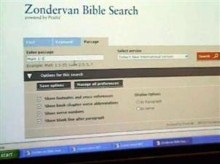 Zondervan Bible Search