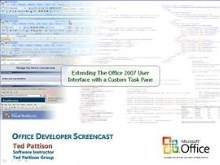 Extending the Office 2007 UI with a Custom Task Pane