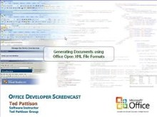 Generating Office Documents using the New Open XML File Formats