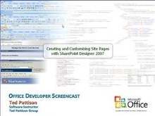 Customizing a Windows SharePoint Services V3 site with the SharePoint Designer 2007