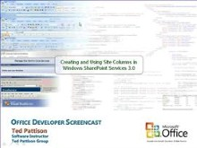 Creating and Using Site Columns in Windows SharePoint Services 3.0