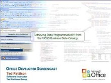 Retrieving Data Programmatically from the MOSS Business Data Catalog