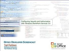 Configuring Security and Authorization with Windows SharePoint Services 3.0