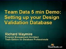 Configuring Design DB for Team Edition for Database Professionals