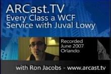 ARCast.TV - Every Class a WCF Service with Juval Lowy
