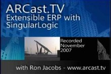 ARCast.TV - Extensible ERP with SingularLogic