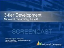 Dynamics AX 4.0 - 3-tier Development