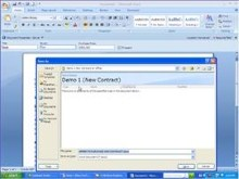 XML Mapping with Word 2007 and Sharepoint